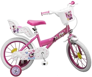 "Bicicleta 16"" Minnie Mouse"